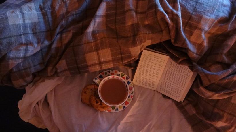 tea book duvet