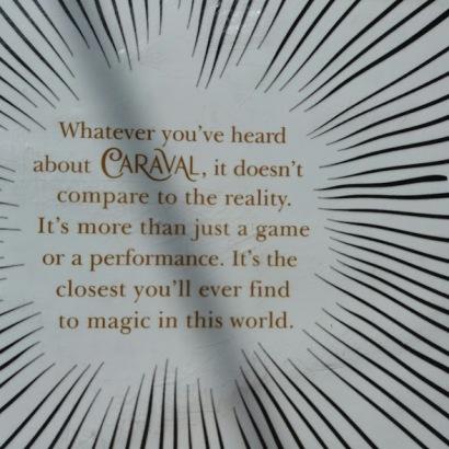 Caraval blurb