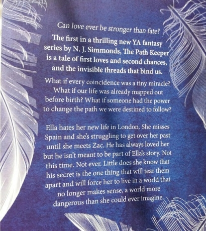 The Path Keeper blurb