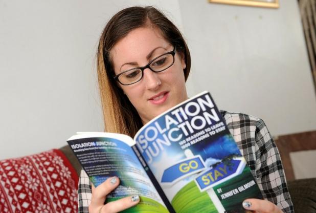 Jen G reading