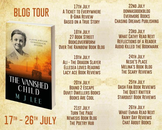 The Vanished Child Full Tour Banner