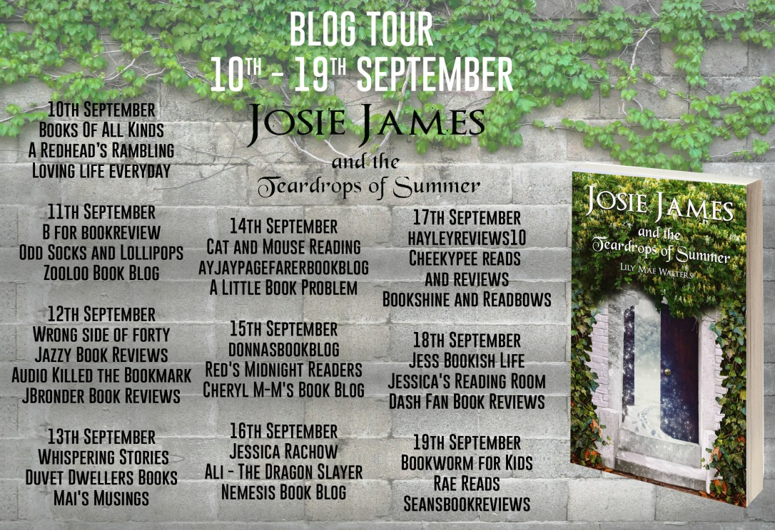Josie James and the Teardrops of Summer Full Tour Banner (1)