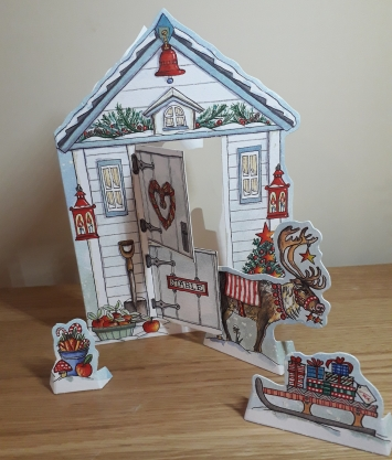 Photo of Christmas Stable Pop up card