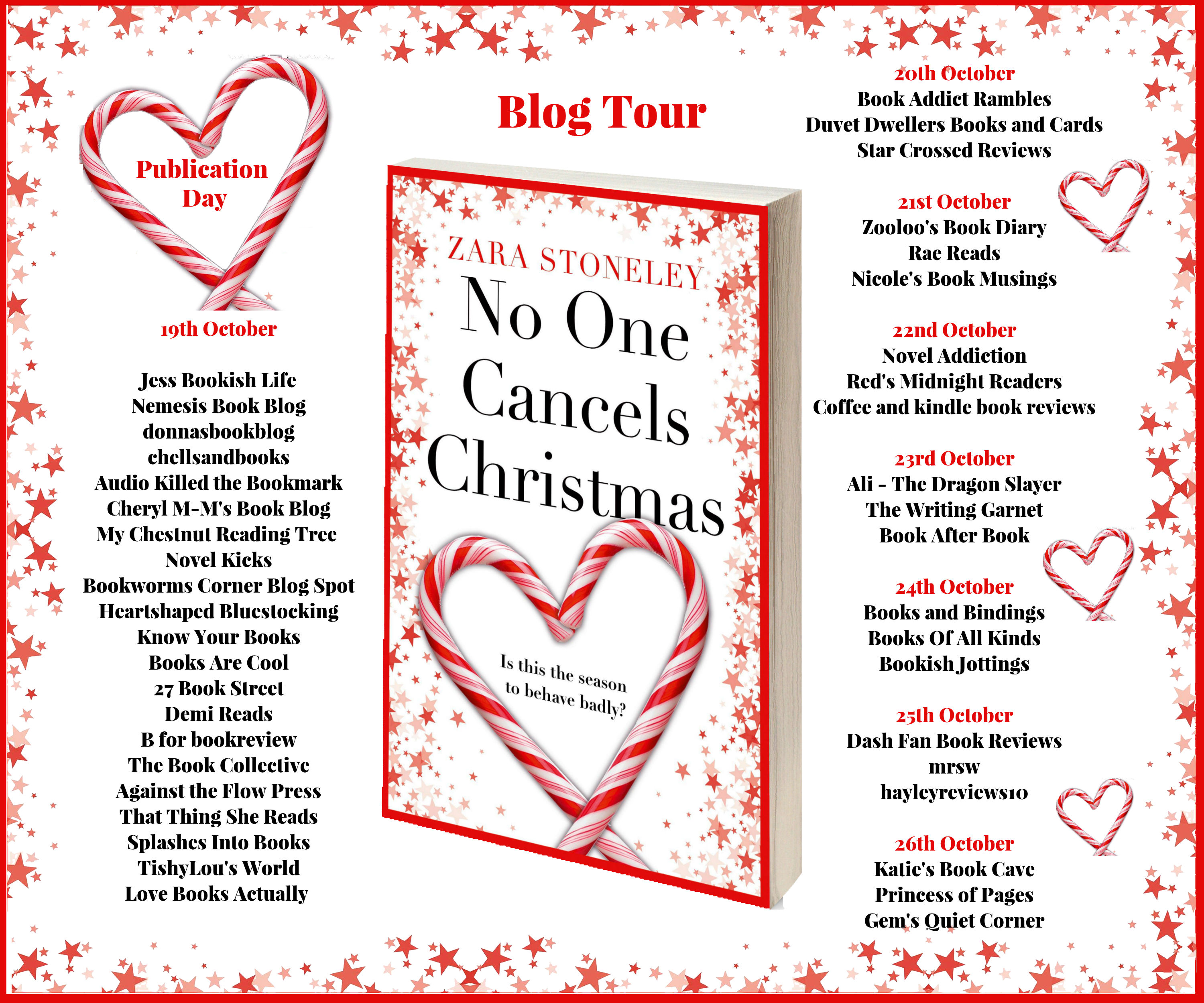 No One Cancels Christmas Full Tour Banner
