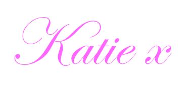 Katie signature pink