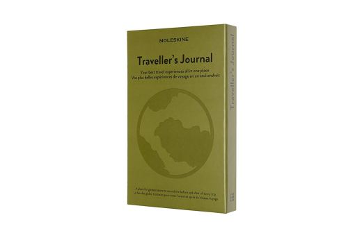 a heart - giveaway prize - moleskin travel journal