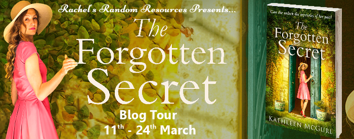 Book review and cover for The Forgotten Secret by Kathleen McGurl