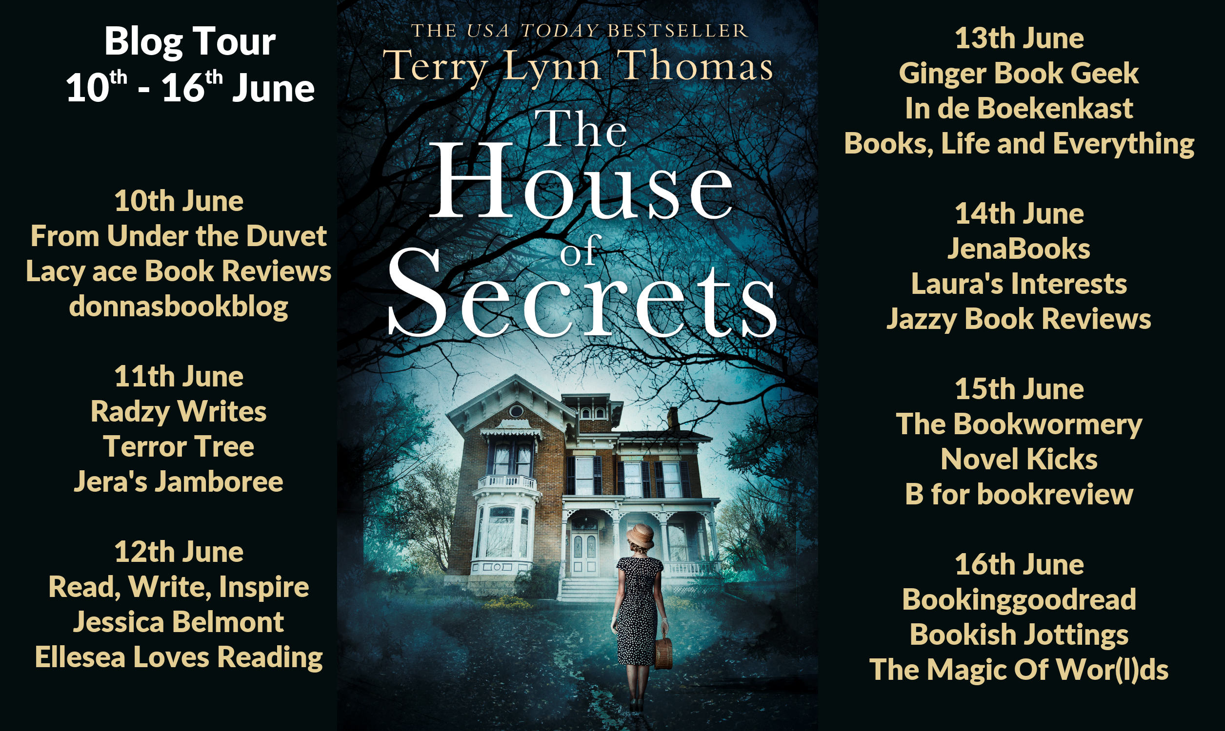 The House of Secrets Full Tour Banner