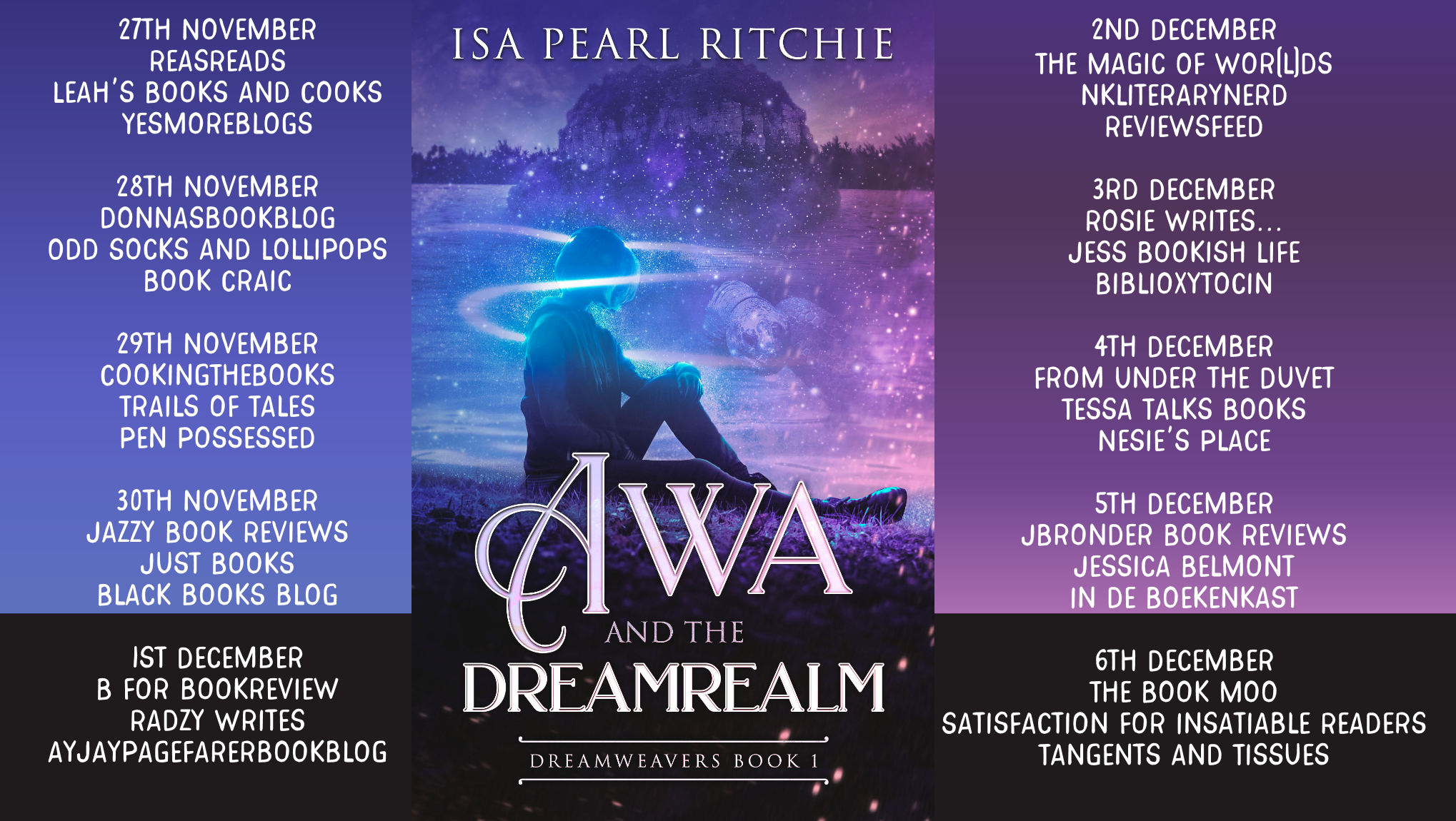 Awa and the Dreamrealm Full Tour Banner
