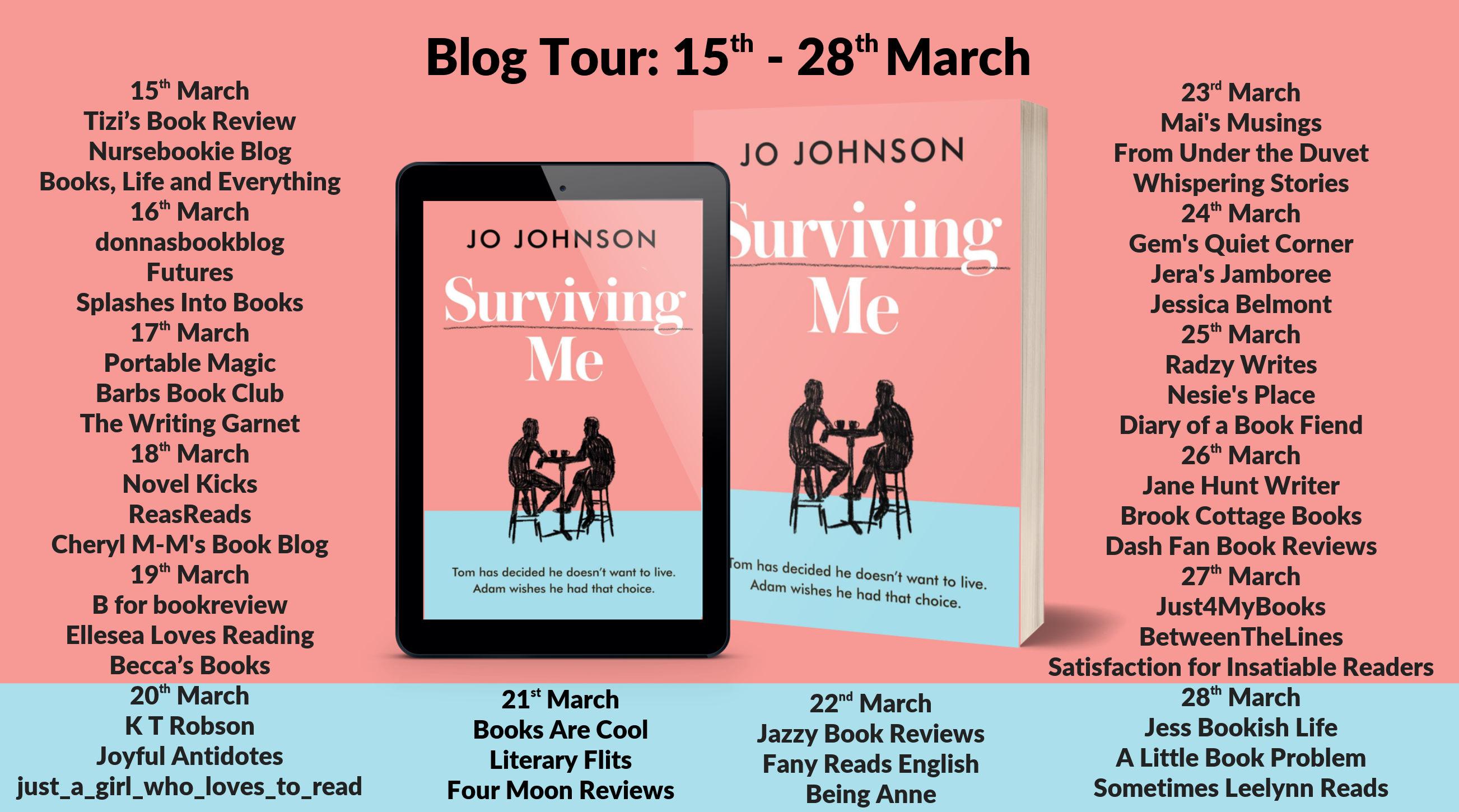 Surviving Me Full Tour Banner