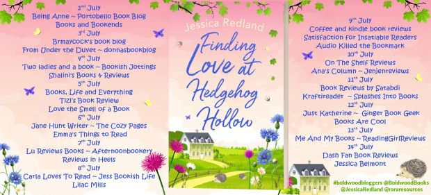 Finding Love at Hedgehog Hollow Full Tour Banner