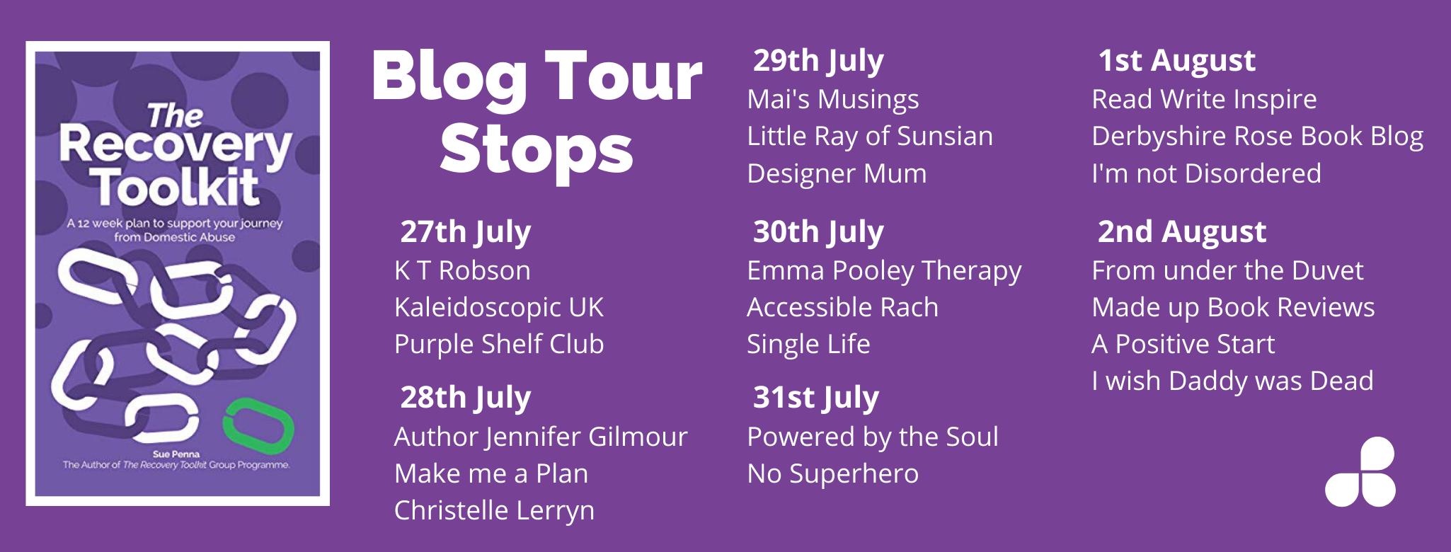 Blog Tour Stops